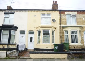 Thumbnail 2 bed terraced house to rent in Geneva Road, Wallasey