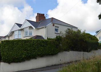 Thumbnail 3 bedroom semi-detached house for sale in Llwyn Mawr Road, Swansea