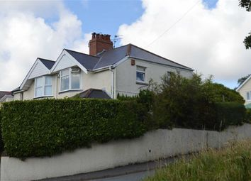 Thumbnail 3 bed semi-detached house for sale in Llwyn Mawr Road, Swansea