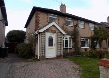 Thumbnail 2 bed semi-detached house for sale in Penrhyn Road, Northwich
