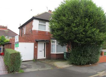Thumbnail 3 bed semi-detached house to rent in Mount Road, Prestwich, Manchester