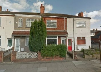 Thumbnail 3 bed terraced house to rent in Pyewipe, Gilbey Road, Grimsby