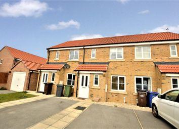 Thumbnail 2 bed terraced house for sale in Brunswick Crescent, Sherburn In Elmet, Leeds