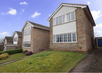 Thumbnail 3 bed detached house for sale in Glen Rise, Burton-On-Trent