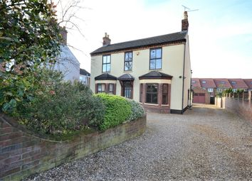 Thumbnail 4 bed detached house for sale in Wootton Road, South Wootton, King's Lynn