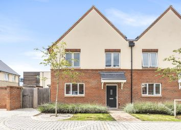 Elmsbrook, Bicester, Oxfordshire OX27. 3 bed semi-detached house for sale