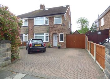 Thumbnail 4 bed semi-detached house for sale in Dawpool Drive, Bromborough, Wirral, Merseyside
