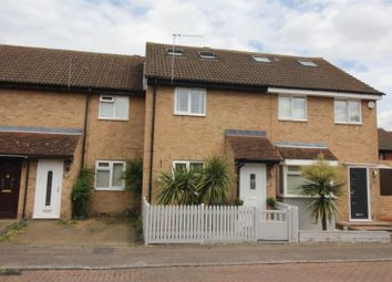 Thumbnail 4 bed terraced house for sale in Leaforis Road, West Cheshunt, Herts