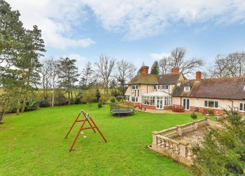 Thumbnail 5 bed detached house for sale in Uppingham Road, Houghton-On-The-Hill, Leicester