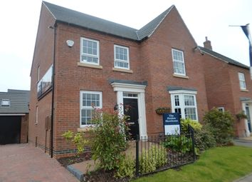 Thumbnail 4 bed detached house for sale in Birch Lane, Glenfield, Leicester.
