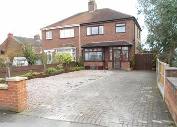 Thumbnail 3 bed semi-detached house for sale in Hungerford Road, Crewe, Cheshire