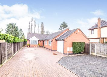Thumbnail 2 bedroom detached bungalow for sale in Hillsborough Road, Glen Parva, Leicester