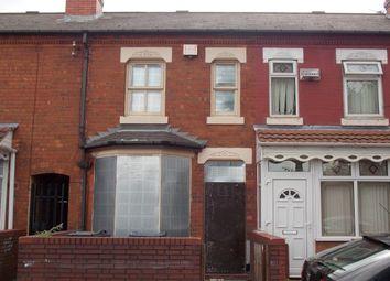 Thumbnail 2 bed terraced house for sale in Cherrywood Road, Bordesley Green, Birmingham