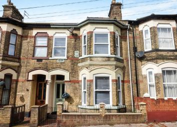 Thumbnail 4 bed terraced house for sale in Clapham Road Central, Lowestoft