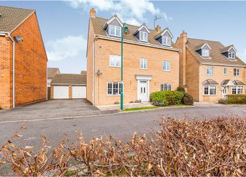 Thumbnail 5 bed detached house for sale in Black Swan Crescent, Hampton Hargate, Peterborough