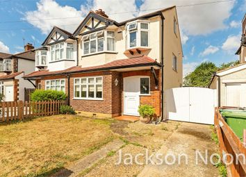 Thumbnail 4 bed semi-detached house for sale in Belfield Road, West Ewell, Epsom