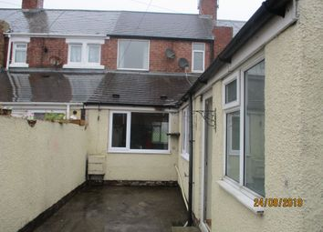 Thumbnail 2 bed terraced house to rent in Monkseaton Terrace, Ashington, Northumberland
