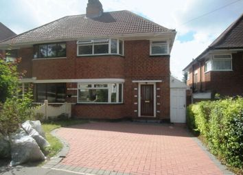 Thumbnail 3 bed semi-detached house to rent in Quinton Lane, Quinton, Birmingham