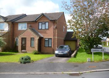 Thumbnail 2 bed end terrace house to rent in Camfield Drive, Tiverton
