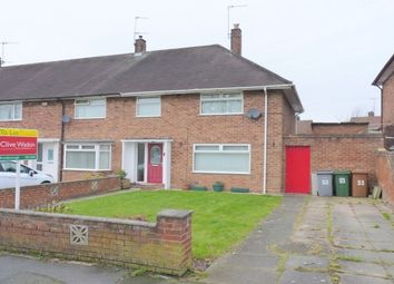 Thumbnail 3 bed terraced house to rent in Kingsley Avenue, Eastham, Wirral