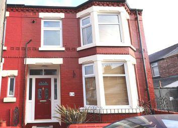 Thumbnail 3 bedroom end terrace house for sale in Belper Street, Liverpool, Merseyside
