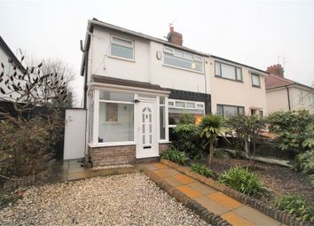 Thumbnail 3 bed semi-detached house for sale in Westcliffe Road, West Derby, Liverpool, Merseyside