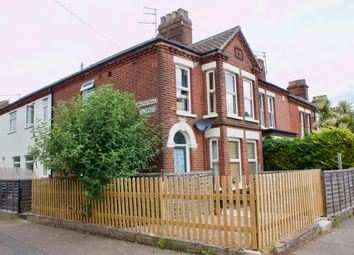 Thumbnail 1 bed flat to rent in Hall Road, Norwich