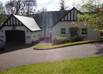 Thumbnail 4 bed detached bungalow for sale in Strathview Gardens, Pitlochry