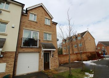 Thumbnail 3 bed town house for sale in Wynnstay Gardens, Ruabon, Wrexham