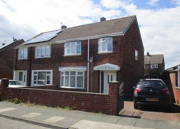 Thumbnail 3 bed semi-detached house to rent in Turner Avenue, South Shields