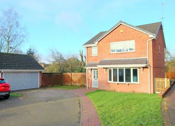 Thumbnail 4 bed detached house for sale in Buckland Grove, Stoke-On-Trent