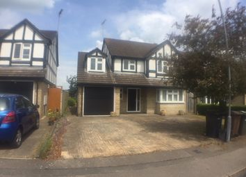 Thumbnail 4 bed detached house to rent in Burford Close, Luton