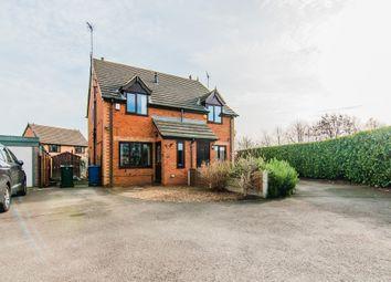 Thumbnail 2 bedroom semi-detached house for sale in Grace Road, Edlington, Doncaster
