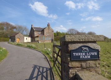Thumbnail 3 bed property for sale in Three Lows Farm, Star Road, Oakamoor, Staffordshire
