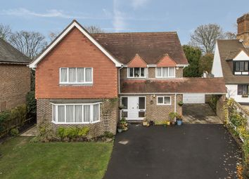 Thumbnail 4 bed detached house for sale in Esher Close, Esher