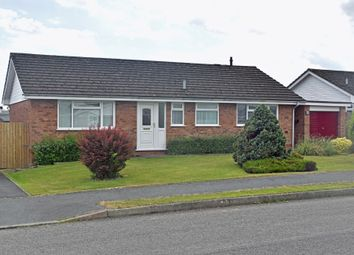 Thumbnail 3 bed detached bungalow for sale in Holcombe Drive, Llandrindod Wells, Powys