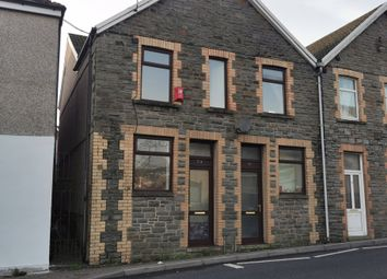 Thumbnail 1 bed semi-detached house to rent in Commercial St, Gilfach