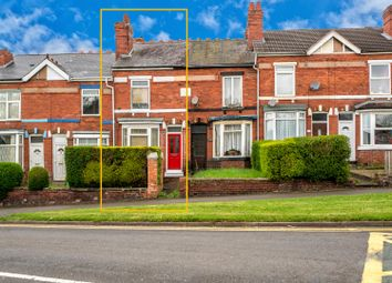 Thumbnail 2 bed terraced house to rent in Hednesford Road, Cannock