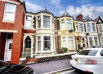 Thumbnail 5 bedroom terraced house for sale in Tewkesbury Street, Roath, Cardiff