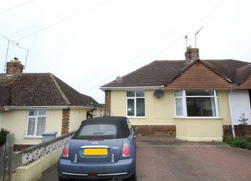 Thumbnail 2 bedroom semi-detached bungalow to rent in Bryant Road, Kettering