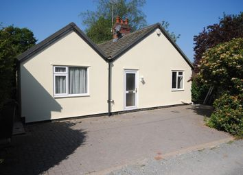 Thumbnail 3 bed detached bungalow to rent in Newcastle Road, Loggerheads, Market Drayton