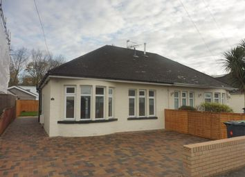 Thumbnail 2 bed bungalow to rent in Heol Pant Y Rhyn, Cardiff