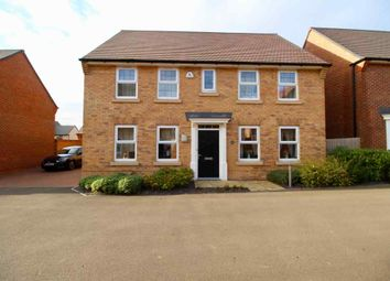 Thumbnail 4 bed detached house for sale in Arnold Drive, Corby