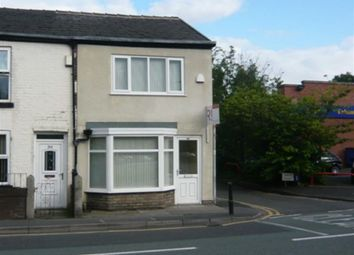 Thumbnail 2 bed end terrace house to rent in Stockport Road, Cheadle, Cheshire