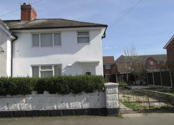 Thumbnail 3 bed semi-detached house for sale in Dawson Street, Walsall