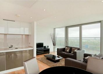 Thumbnail 1 bed flat to rent in Landmark East Tower, 24 Marsh Wall, London