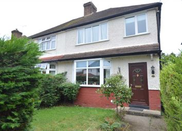 Thumbnail 3 bed semi-detached house to rent in Shakespeare Road, Addlestone
