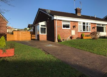 Thumbnail 2 bed semi-detached bungalow for sale in Cae'r Fferm, Glenfields, Caerphilly