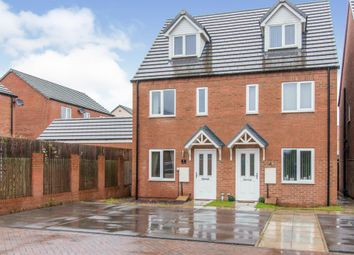 Thumbnail 3 bedroom town house for sale in Stayers Road, Bessacarr, Doncaster