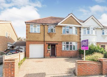 Thumbnail 4 bed semi-detached house for sale in Clayton Road, Chessington